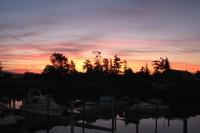 Sunrise on the West Coast of BC