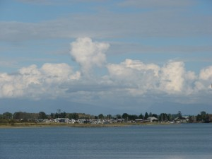 Clouds over Float Homes