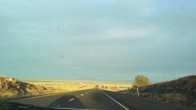 Arizona and the setting sun