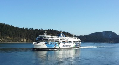 Passing ferry in Active Pass
