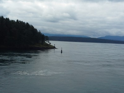 Looking back to Victoria