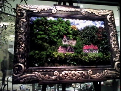 Plant Painting - Bellagio Hotel