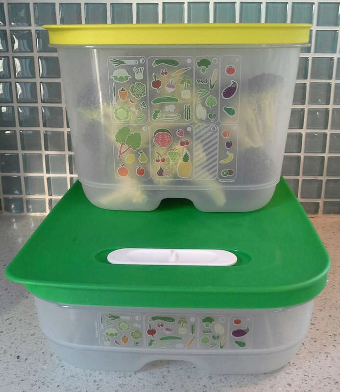 Tupperware FridgeSmart 2 sizes