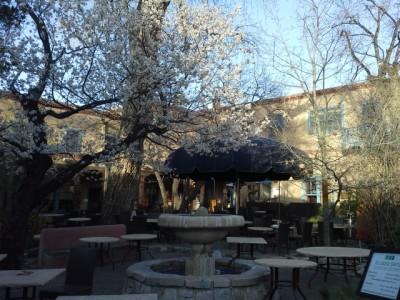 La Casa Sena courtyard