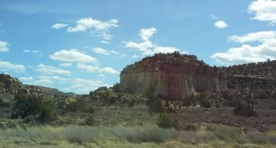 New Mexico heading toward Albuqerque