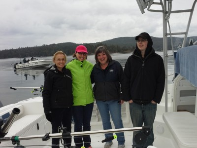 Fishing off the coast of BC near Sooke with my best friends.