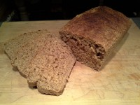 Sliced No-Knead Whole Wheat Bread